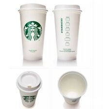 Starbucks Reusable Cups Lot Of 4 Tumbler Plastic Grande Recyclable 16oz HTF! NEW