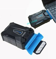 """USB Mini Vacuum Air USB Case Cooling Pad Stand for 13""""14"""" 15.3"""" 15.6"""" 17"""" Laptop"""
