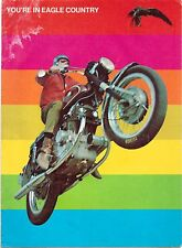 1970 American Eagle 100cc to 750cc motorcycle sales brochure(Reprint). $9.50
