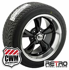 "17x7"" 17x9"" Black Wheels Rims BFG All Season Tires for Chevy S10 2wd 82-05"