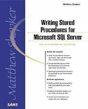 Writing Stored Procedures for Microsoft SQL Server-ExLibrary