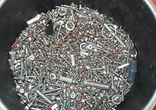 3lbs Stainless Steel hardware +  Latches Nuts Screws washers Metric English