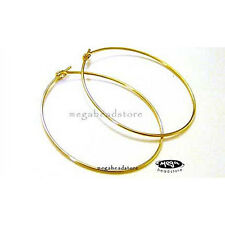 4 pcs 14k gold Filled Round Hoop Ear Wire 30mm F215GF