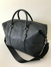 Coach Men's Midnight Sport Calf Leather Voyager Duffle Bag Travel Carryon 54765