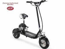 49cc 3-Speed Gas Powered High Performance MotoTec Black Scooter Ride On Kids