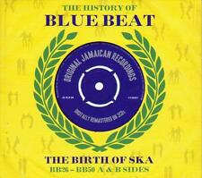 THE HISTORY OF BLUE BEAT-THE BIRTH OF SKA-BB26-BB50 A & B SIDES -NEW SEALED 3CD