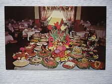 Far Hills Inn Gourmet Buffet Table Restaurant Somerville, NJ Postcard