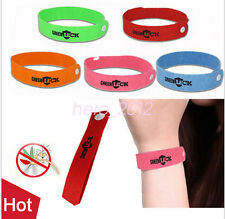 50X Anti Mosquito Mozzie Pest Insect Bugs Repellent Repeller Wrist Bracelet