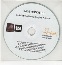 (GS580) Nile Rodgers, Do What You Wanna Do - DJ CD