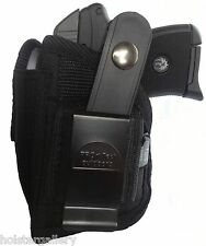Gun holster with Mag Pouch fits Desert Micro Eagle Right Hand Left Hand Draw