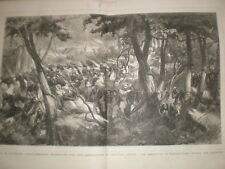 H M Stanley in central Africa Under the Equator 1878 large old print