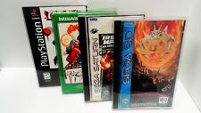10 CUSTOM FIT BOX PROTECTORS FOR SEGA CD / SATURN / PS1 LONGBOX! GAMES! CIB NEW