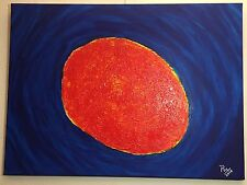 """Puy  """" Abstract Sun M5""""  73x54 cms"""