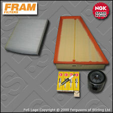 SERVICE KIT FORD MONDEO MK4 1.6 PETROL FRAM OIL AIR CABIN FILTERS PLUGS (07-14)