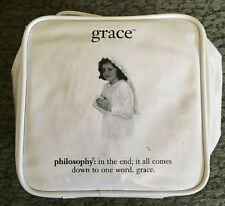 Philosophy 4 piece Amazing Grace set in cosmetic bag ORIGINAL DIST BY PHILOSOPHY