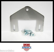 CHROME SEAT MOUNTING BRACKET & SCREWS FOR HARLEY SPORTSTER XL XLH 883 XLS 79-95