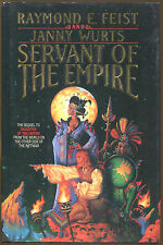 Servant of the Empire by Janny Wurts and Raymond E. Feist-1st Ed./DJ-1990