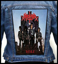 SARCOFAGO - I.N.R.I.  --- Giant Backpatch Back Patch /Holocausto Mutilator