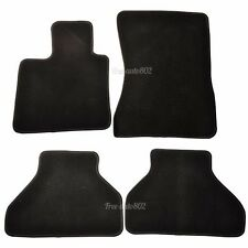 FOR 07-12 BMW E70 X5 4Dr Black Nylon Front&Rear OEM Cutting Floor Mats Carpet