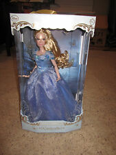 Disney Store Cinderella Live Action Film Limited Edition Doll Dress 17'' LE 4000