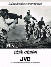 PUBLICITE ADVERTISING 054  1980  JVS  VHS    vidéo création caméra