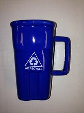 Novelty Recycling Bin Coffee Cup Mug Porcelain Big Mouth Toys - Blue