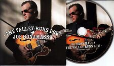 JOE BONAMASSA The Valley Runs Low 2016 Dutch 1-track promo CD