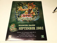 Yu-Gi-Oh CCG Magic Ruler High Quality Promo Poster!! Upper Deck