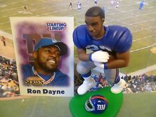 2000  RON DAYNE - Starting Lineup - EXT - SLU - Loose With Card -New York Giants