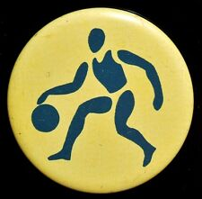 Basketball , Vintage Soviet Russian USSR Pin Badge