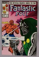 The Official Marvel Index to the Fantastic Four #3 MINT