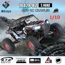 Original WLtoys 10428-B2 1/10 2.4G 4WD Off-Road Buggy Desert RC Car RTR O3R8