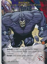 RHINO Upper Deck Marvel Legendary VILLAIN EMISSARIES OF EVIL