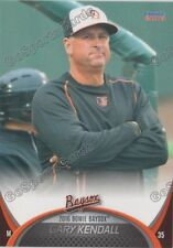 2016 Bowie Baysox Gary Kendall MGR Orioles Minor League