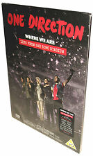 ONE DIRECTION DVD Where We Are LIVE From the San Siro Stadium SEALED 2014