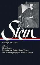 Gertrude Stein: Writings 1903-1932 (Library of America)-ExLibrary