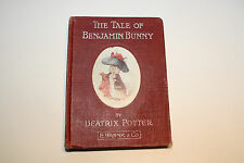 1904 BEATRIX POTTER::1ST USA LIBRARY EDITION BENJAMIN BUNNY:GOOD EARLY PRINTING