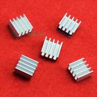 New High Quality 5pcs 11x11x5mm adhesive Aluminum Heat Sink For Memory Chip IC