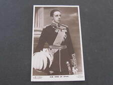 H.M. King of Spain Royalty Postcard