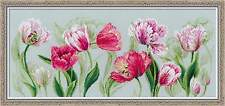 "Counted Cross Stitch Kit RIOLIS - ""Spring tulips"""