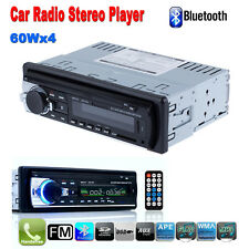 Car Radio Bluetooth Stereo Head Unit Autoradio USB AUX-IN IPOD IPHONE MP3 FM