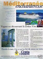 Publicité advertising 1998 Costa Croisières