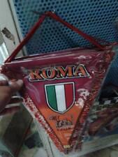 1 gagliardetto roma  bandiera  formato usato scambio in campo