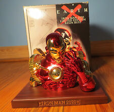 Earth X: Iron Man 2020 Mini-Bust CIB complete in box #476 of 500 [series #14]