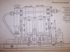 2CYL.    MODEL MARINE STEAM ENGINE & BOILER PLANS