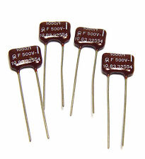 4x ans MICA-Condensateur 1000 pf/1%/500 volts, High-End Mica Capacitor