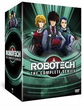 Robotech Complete Animated TV Series 85 Episodes Macross Saga Series 1 , 2 ,3