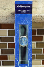 New Disney Parks MICKEY MOUSE Face Limited Release Black Strap Watch - Mens