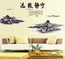 Chinese Scenery Hill Home Room Decor Removable Wall Sticker Decal Decoration