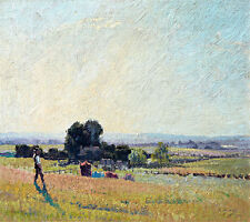 Morning Light by Elioth Gruner A1+ High Quality Canvas Print
